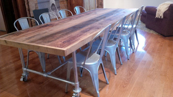 Pipe Tables For the Home