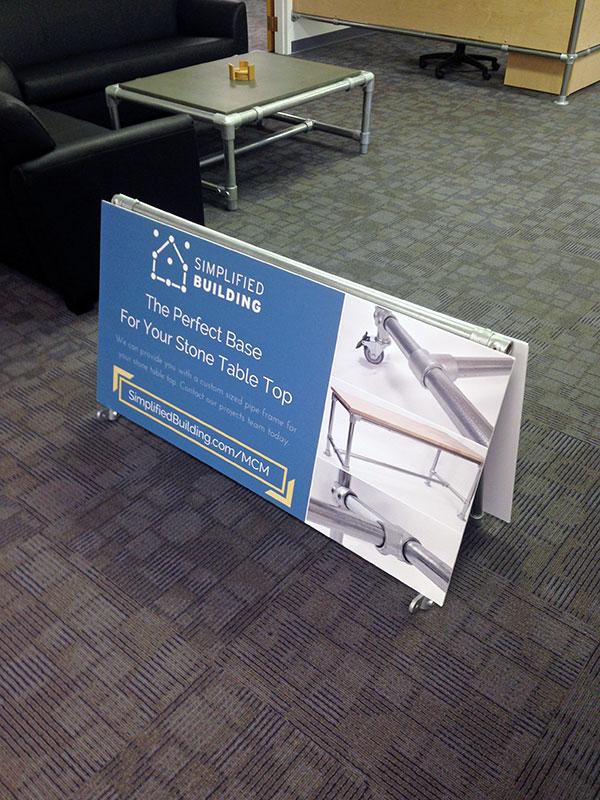 A-Frame Banner Frame