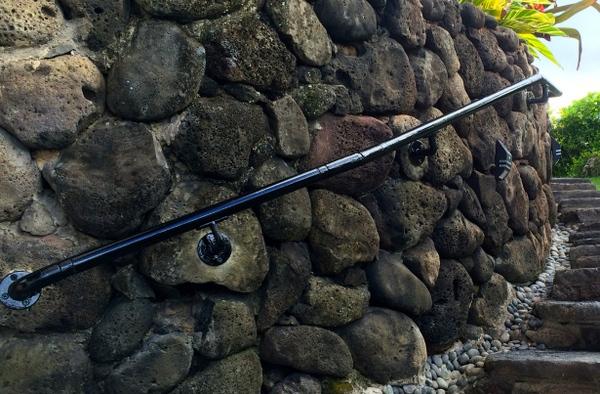 Adding Railing to Stone Walls