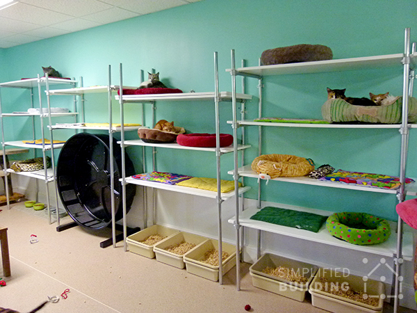 Adjustable Shelving Units