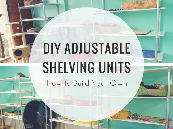Adjustable Shelving Units - How to Build Your Own