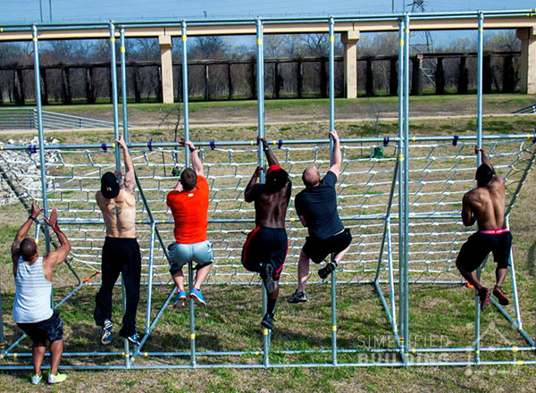 American Ninja Warrior Training Obstacle