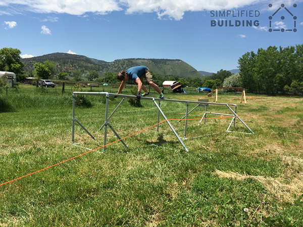 Obstacle Racing Structure