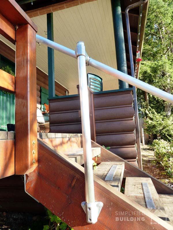 Back Deck Railing