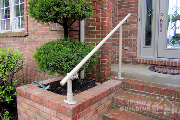 Brick Porch Railing