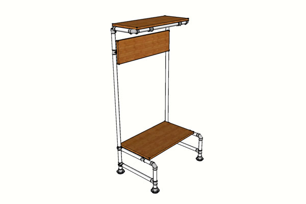 Bench and Coat Rack Plans