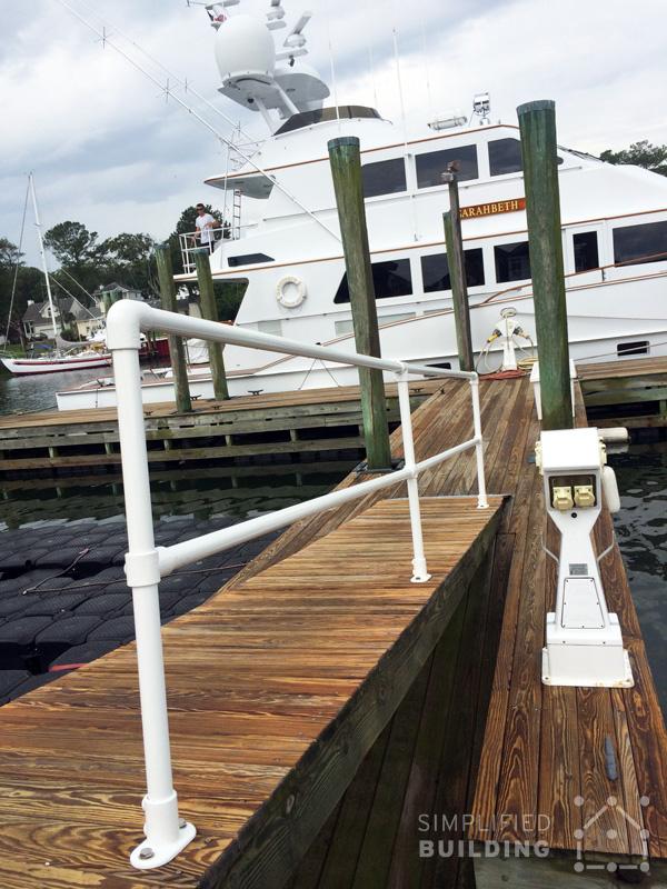 Boat Rock Railing