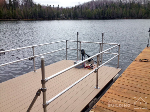 Pontoon Boat Restoration And Railing Upgrade Simplified