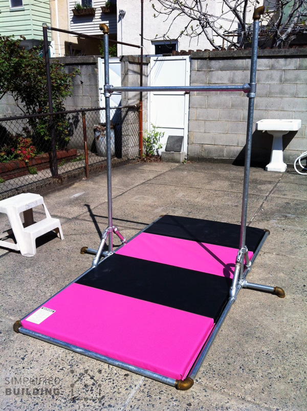 Build A Home Gym From Industrial Pipe