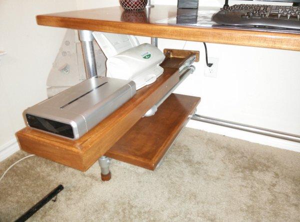 Custom Desk Designs build your own diy computer gaming desk | simplified building
