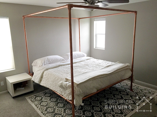 47 Diy Bed Frame Ideas Built With Pipe