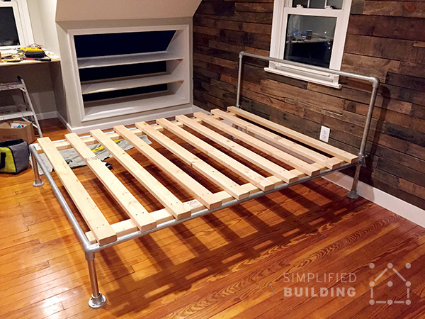 how to build a bed frame diy