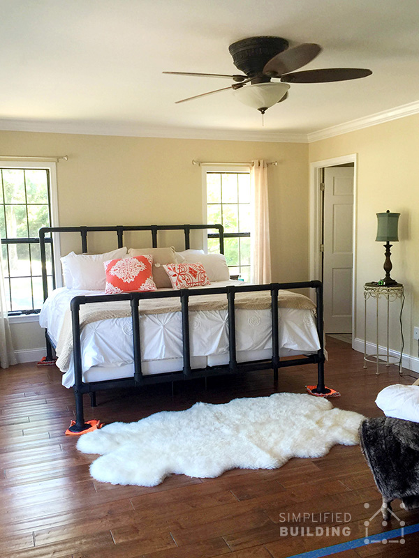 The Above Bed Frame Was Built By Stephanie From Crandall, Georgia. The Frame  Seats A King Size Mattress. Stephanie Appreciated The Ease Of Use And  Quality ...