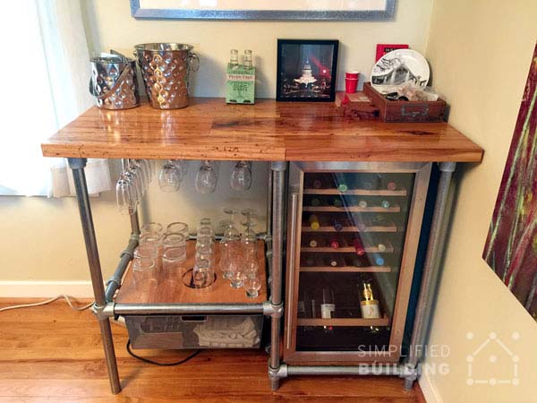 DIY Beverage Cart