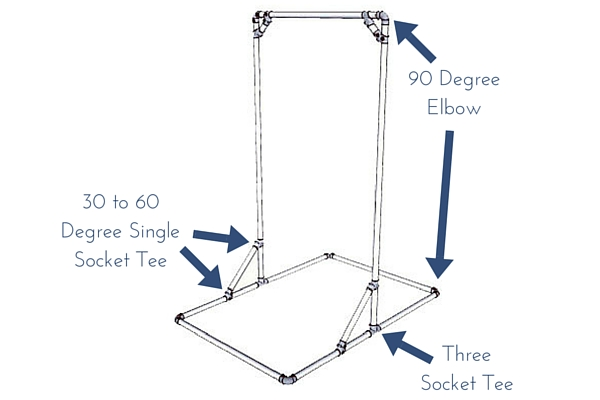 diy free standing pull up bar simplified building