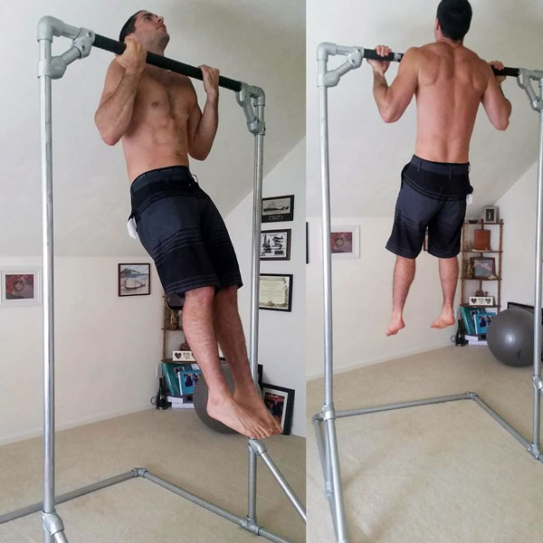 DIY Free Standing Pull-Up Bar