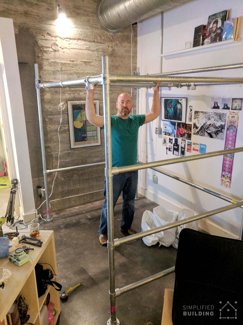 Full-Size Loft Bed - Assembly