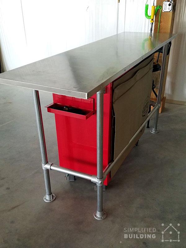 Astounding How To Build A Garage Workbench Simplified Building Beatyapartments Chair Design Images Beatyapartmentscom