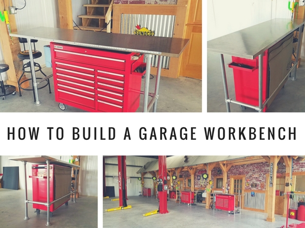 How to Build a Garage Workbench