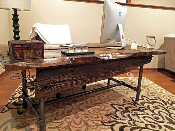 build your own office desk. diy rustic desk plans to build your own office