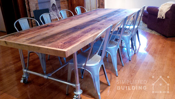 10 ft. Dining Table