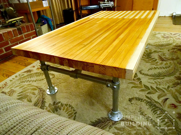Bowling Alley Coffee Table