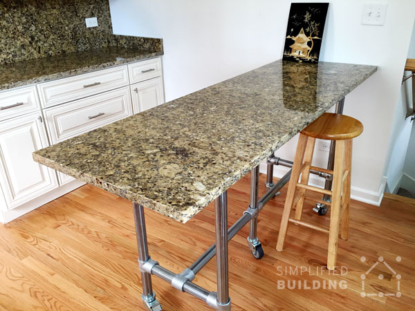 Granite Top Kitchen Table