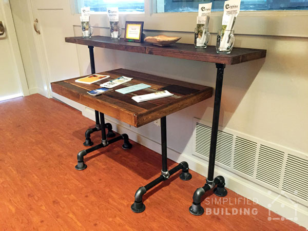 Pipe Nesting Table