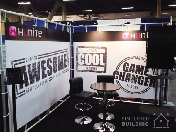 Easy To Assemble Trade Show Booth Display