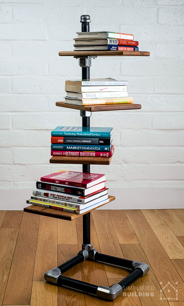 build your own free standing bookshelf - Build Your Own Bookshelves
