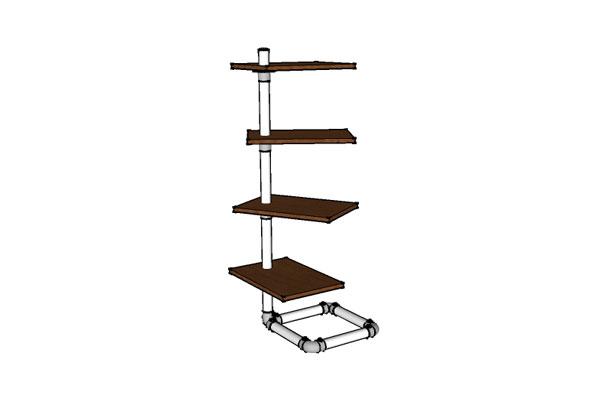 Free Standing Bookshelf Plans