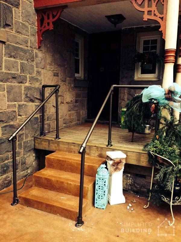 Front Steps Deck Railing