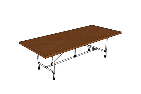 Industrial Conference Table Plans