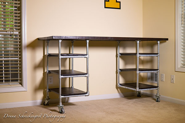Industrial Pipe Desk Amp Shelving Plans