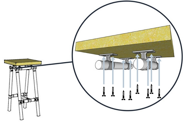 Pipe Bar Stool Plans