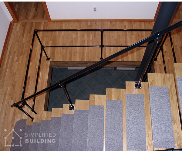 railing design for industrial applications