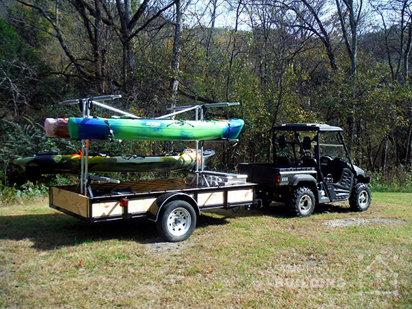 Build your own kayak trailer utility trailer conversion my favorite part of using simplified building products was the ease of installation and the ability to make changes to my design without grinding welds and solutioingenieria Images