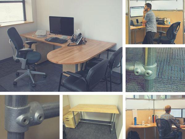 Kee Klamp Standing Desks