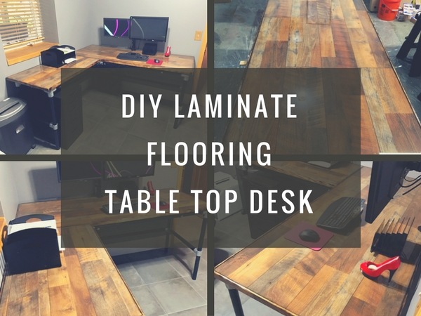 Laminate Flooring Table Top Desk
