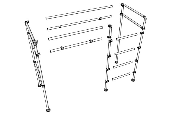 Loft Bed Frame Drawing