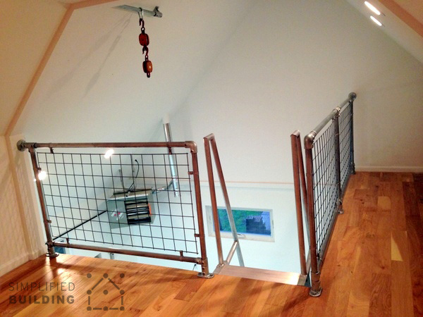 Loft Railing & 5 Unique Loft Ideas Built With Industrial Pipe | Simplified Building