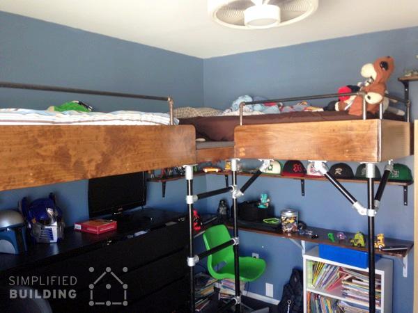 Boy's Loft Bed