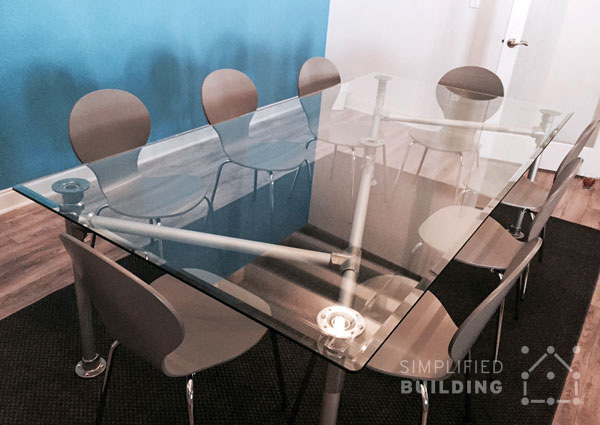 Modern Conference Table Ideas Simplified Building - Small glass conference table