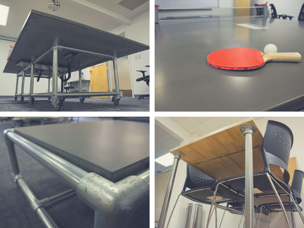 Modern Office Design - Table Frames for Any Table Top