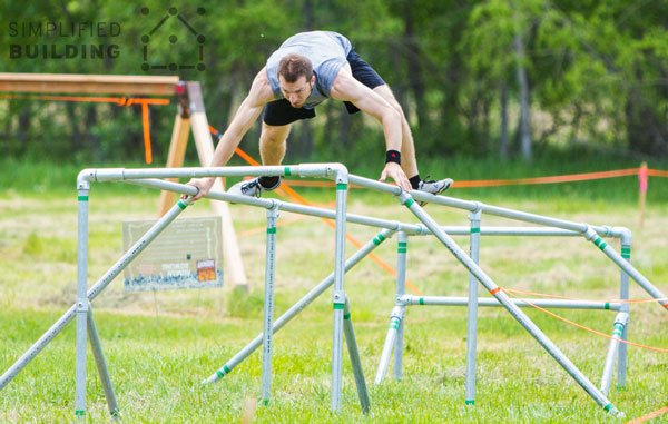Obstacle Racing Balance Structure