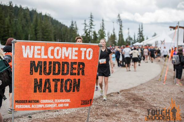 Outdoor Banner Frame - Tough Mudder