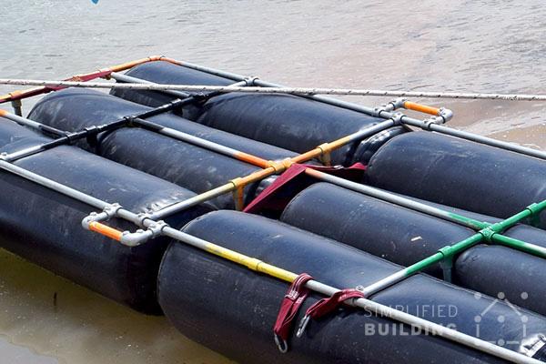 DIY Portable Floating Dock | Simplified Building
