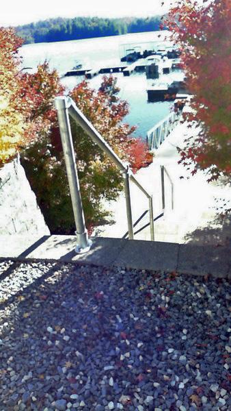 Railing for Concrete Steps