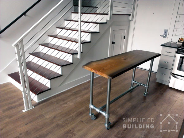 10 diy kitchen island ideas that you can build yourself simplified live edge kitchen island solutioingenieria Image collections
