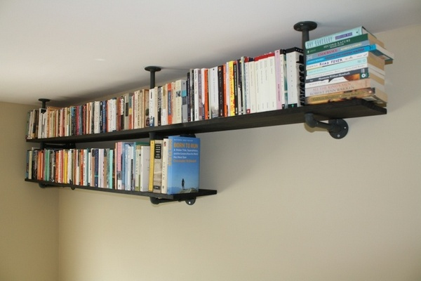 Shelf Ideas Built With Pipe